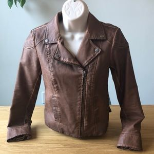 Anthropologie | Cartonnier Leather Fayette Jacket